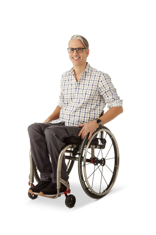 Straight Leg Chino Cargo Pockets - Clothes designed with the wheelchair user in mind.