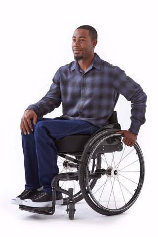 mens sailor jean for wheelchair users
