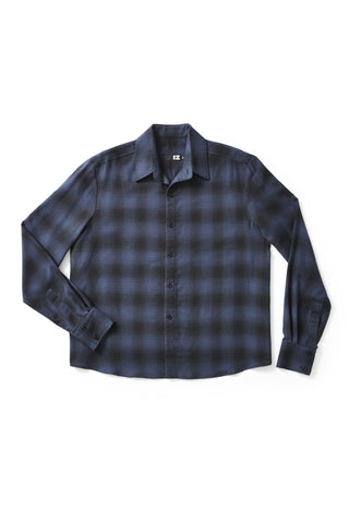Long Sleeve Flannel Shirt - Beautifully designed clothing, easy to access.
