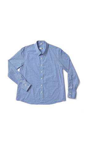 adaptive fashion. men's gingham dress shirt