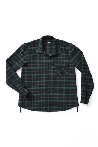 Heavyweight Plaid Shirt - Bold new looks in the world of adaptive apparel.