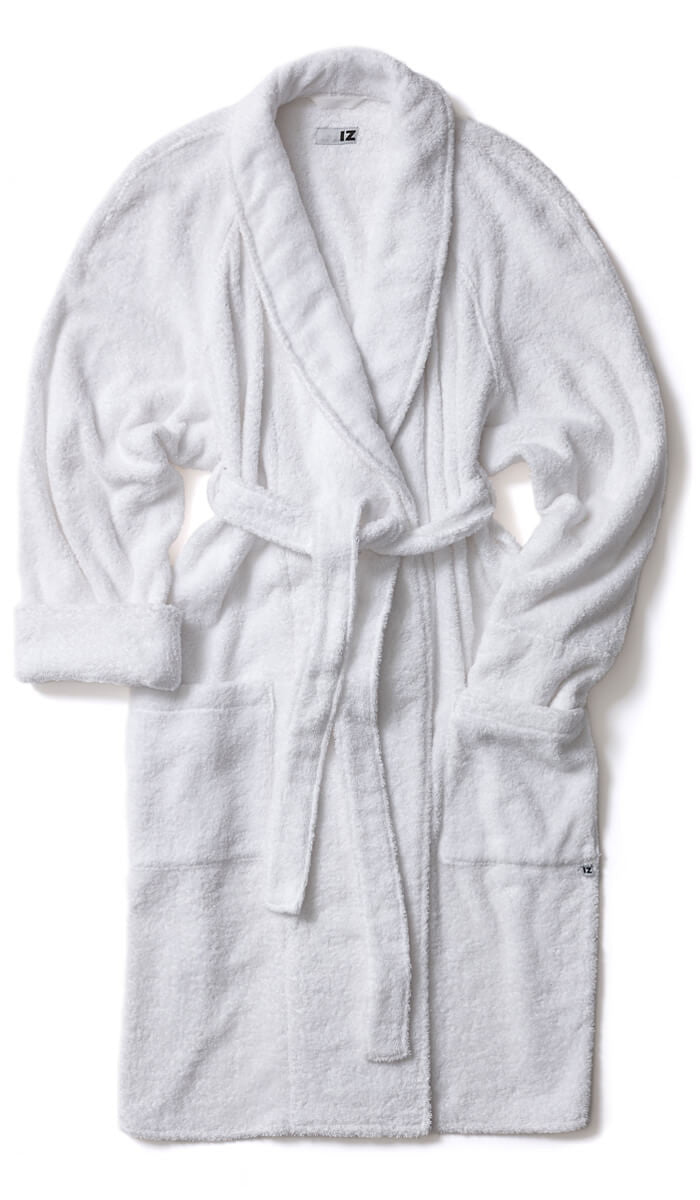 Bath Robe: The ultimate in adaptable clothing.