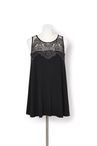 Lace Detail Dress - Womens adaptive fashion from IZ Collection