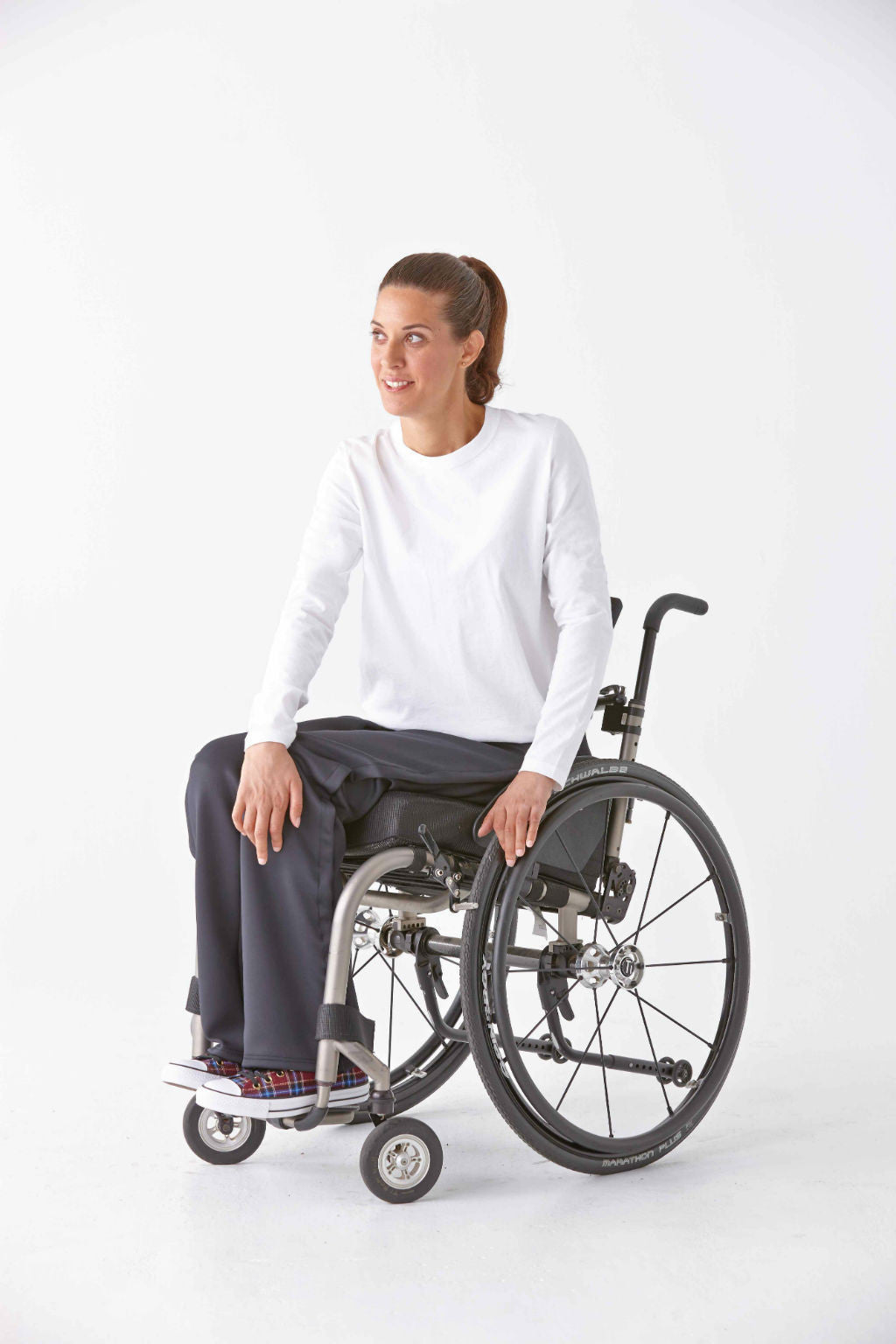 A new standard in wheelchair fashion.