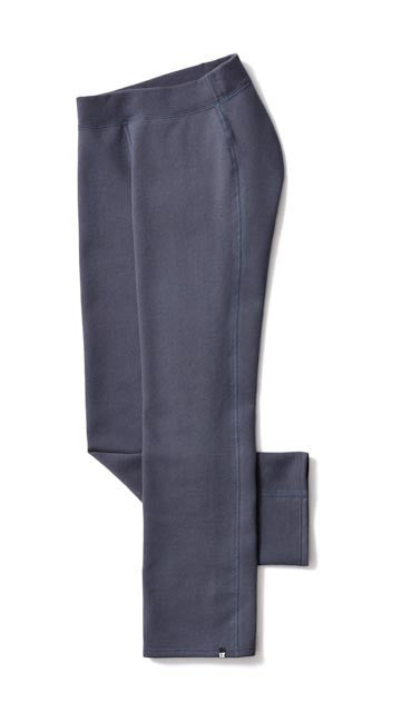 Women's Straight Leg Sweatpant in Blue - Beautifully designed clothing, easy to access.