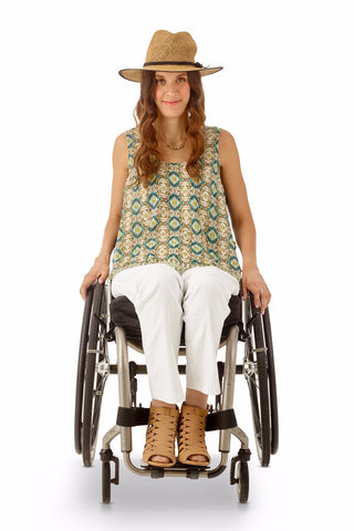 Tank Top for wheelchair users