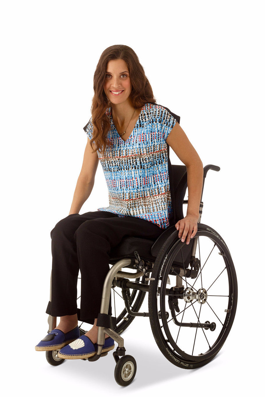 ankle pants for wheelchair users