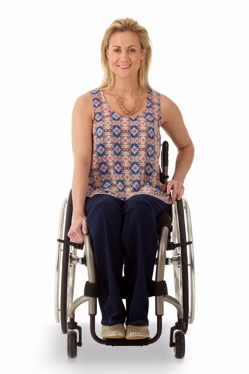 2-layer Tank - Bold new looks in the world of adaptive apparel.