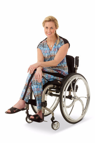 print ankle pants for wheelchair users