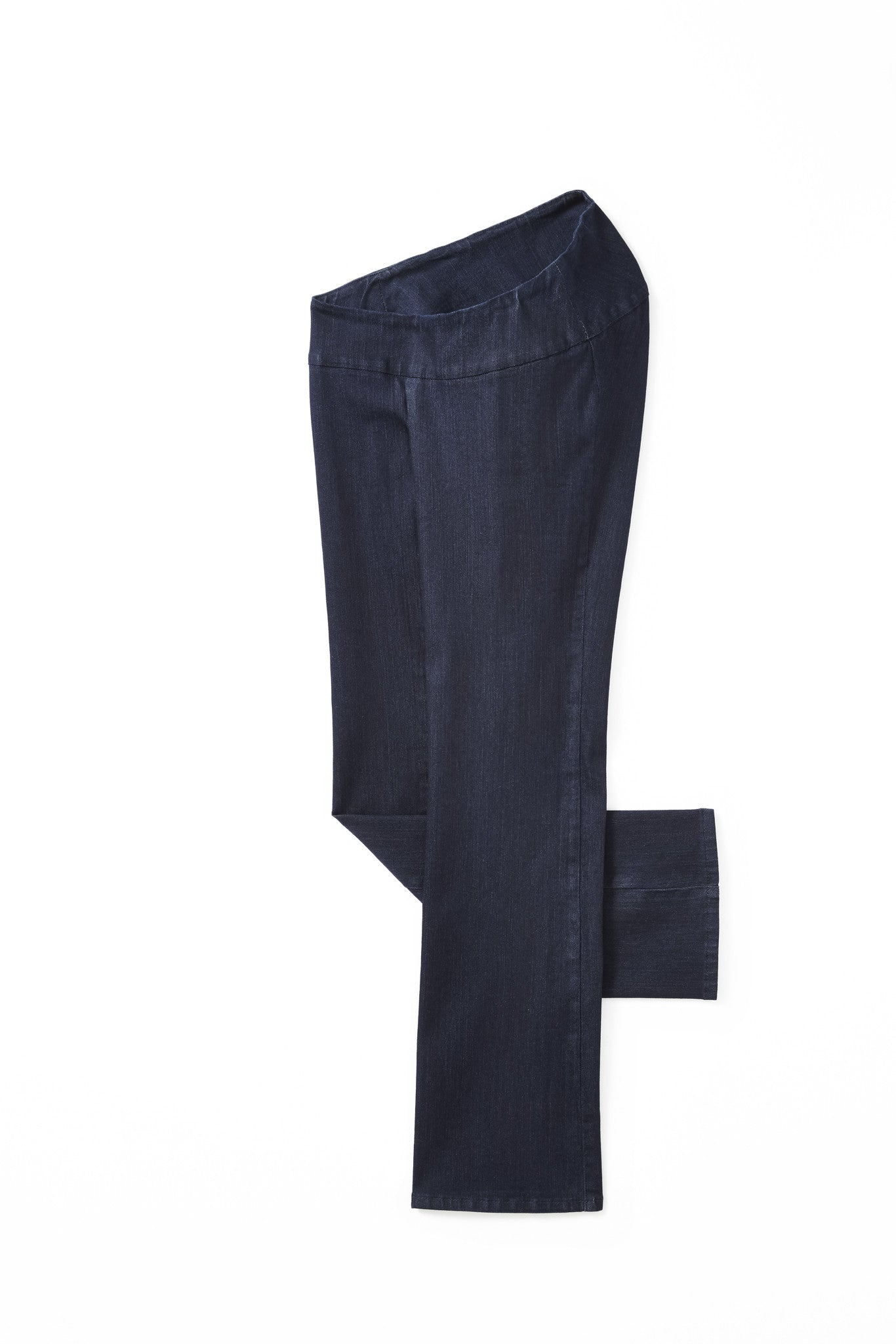 accessible fashion - straight leg jeans yoga waistband