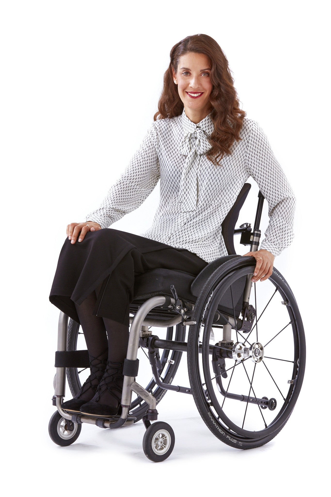 Wrap Skirt - Hot new adaptive fashion for wheelchair users