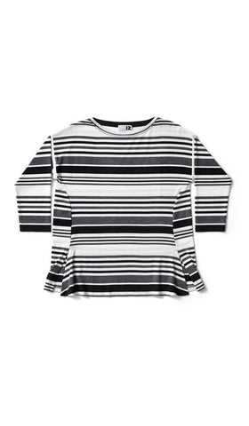 Striped tee - So much more than disability clothing.