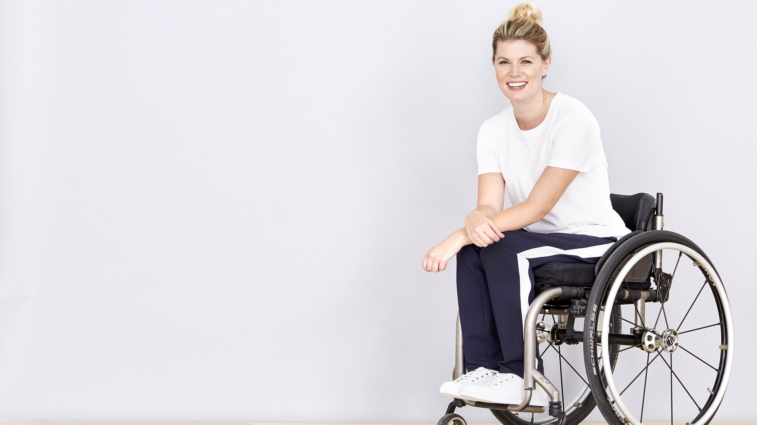 Athleisure for wheelchair users
