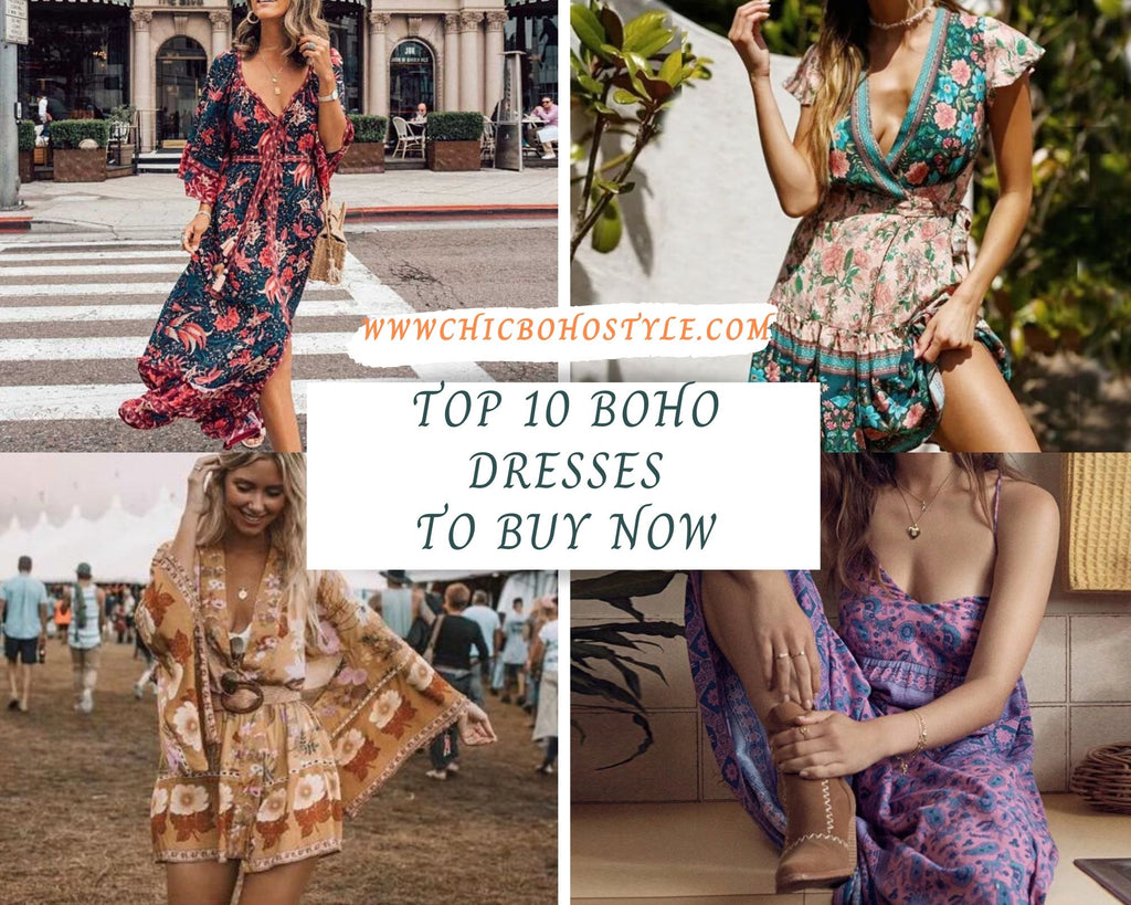 Top 10 Boho Dresses to Buy Right Now