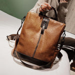 Multi-Function Leather Backpack-ChicBohoStyle