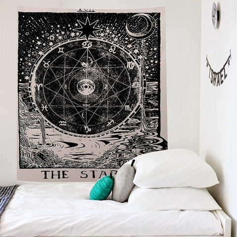 Psychedelic Tapestry Decor for Bedroom & Living Room-ChicBohoStyle
