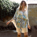Tassel Cover Up Dress-ChicBohoStyle