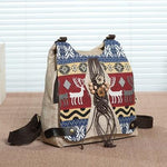 Vintage Appliques & Embroidery Multi-Use Backpack-ChicBohoStyle