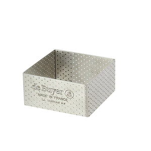Perforated Square Tart Ring Height 1.4""