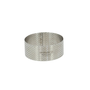 Perforated Round Tart Ring Height 1.4""