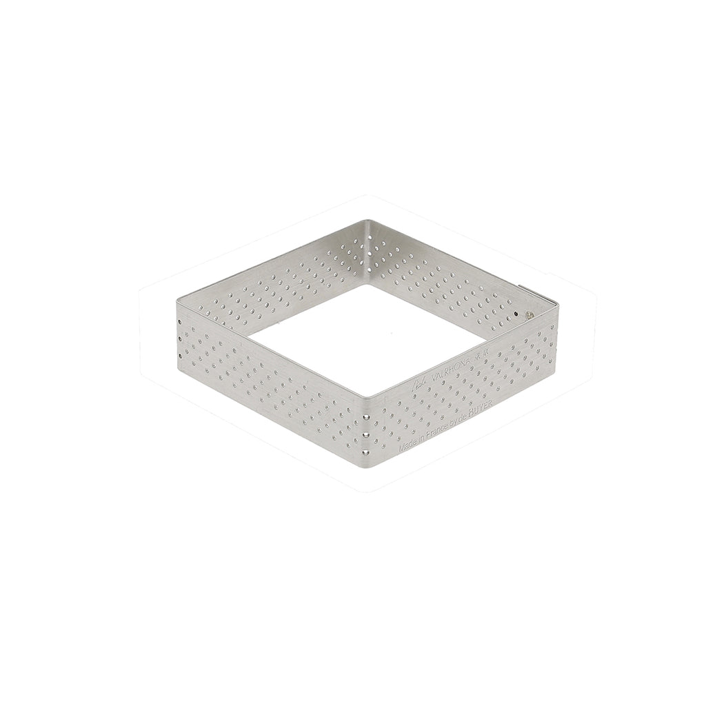 Perforated Square Tart Ring Height 0.8