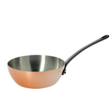 INOCUIVRE TRADITION Copper Conical Saute Pan