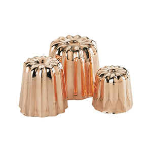 de Buyer cannele copper mold - 6820.35N - 6820.45N - 6820.55N