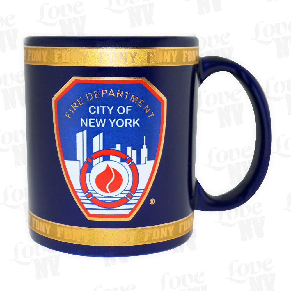 FDNY New York Fire Department Feuerwehr Kaffeetasse