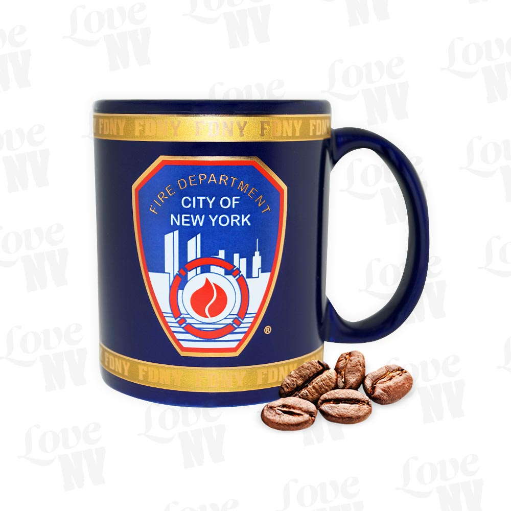 FDNY New York Fire Department Feuerwehr Espresso Kaffeetasse