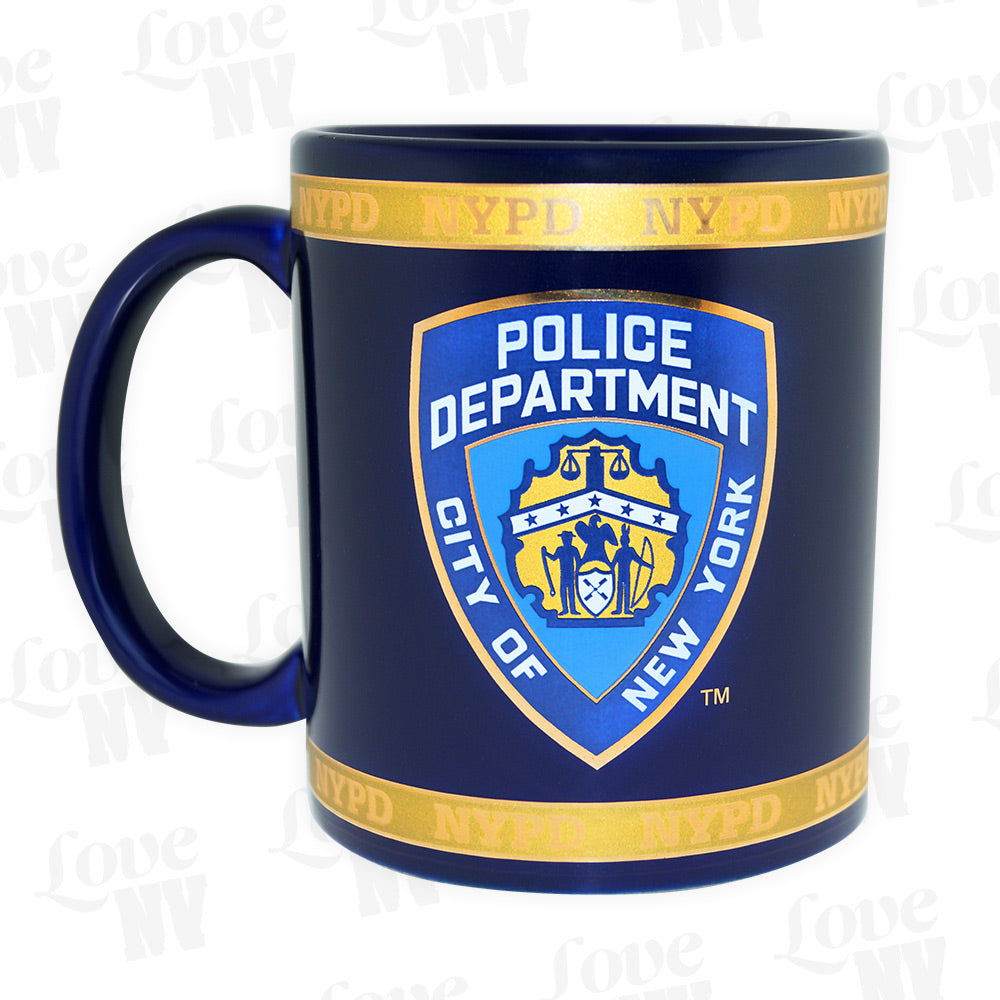 NYPD New York Police Department Polizei Tasse