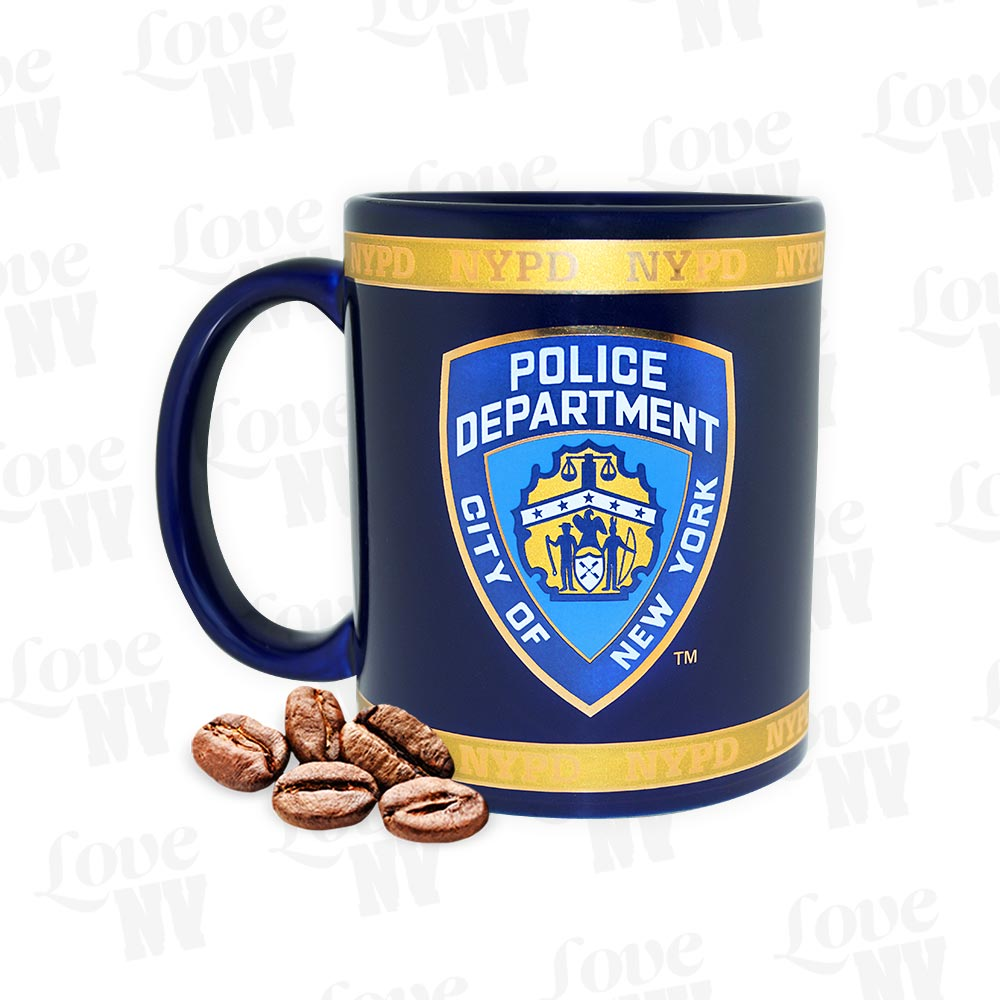NYPD New York Police Department Polizei NYC Espresso Tasse
