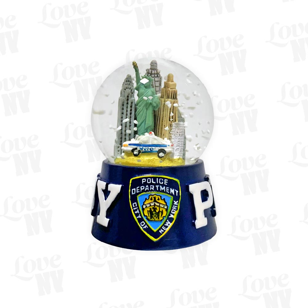 NYPD New York City Police Department Schneekugel klein 1