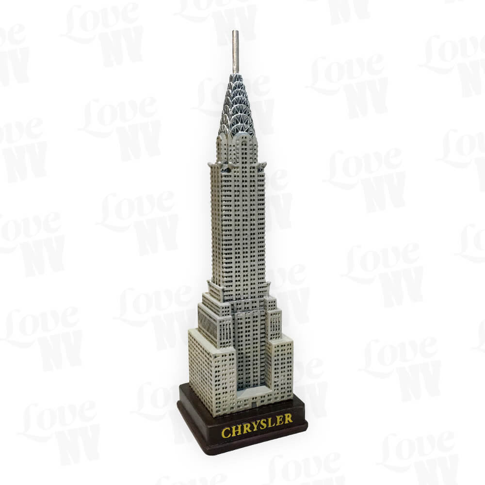 Chrysler Building New York City Statue 1