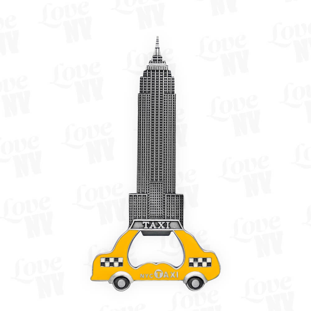 NYC Taxi Flaschenöffner New York Empire State Building 1