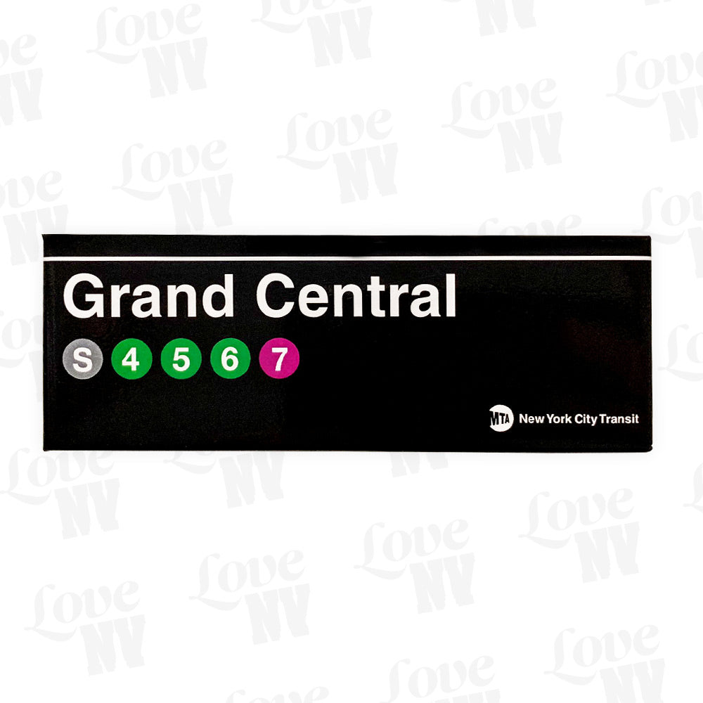 Grand Central Subway Station New York MTA Magnet