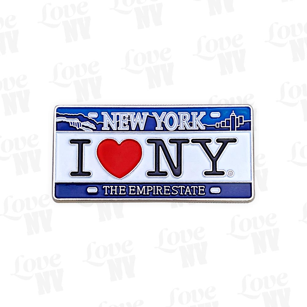 I LOVE NY New York Heart Kennzeichen Magnet