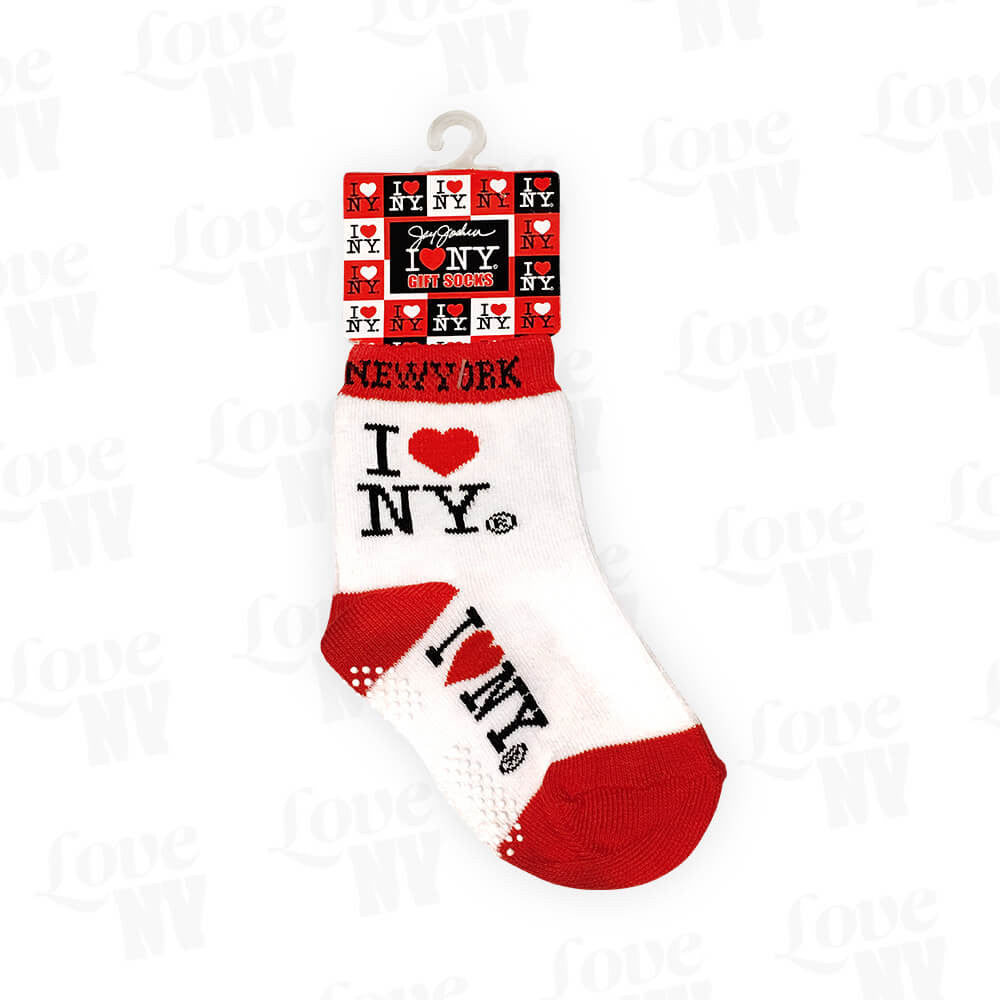 I LOVE NY Anti-Rutsch Babysocken