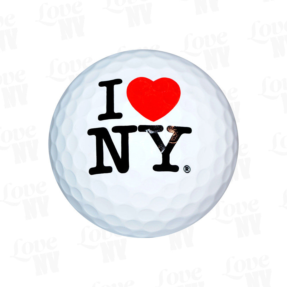 I LOVE NY Golfball New York