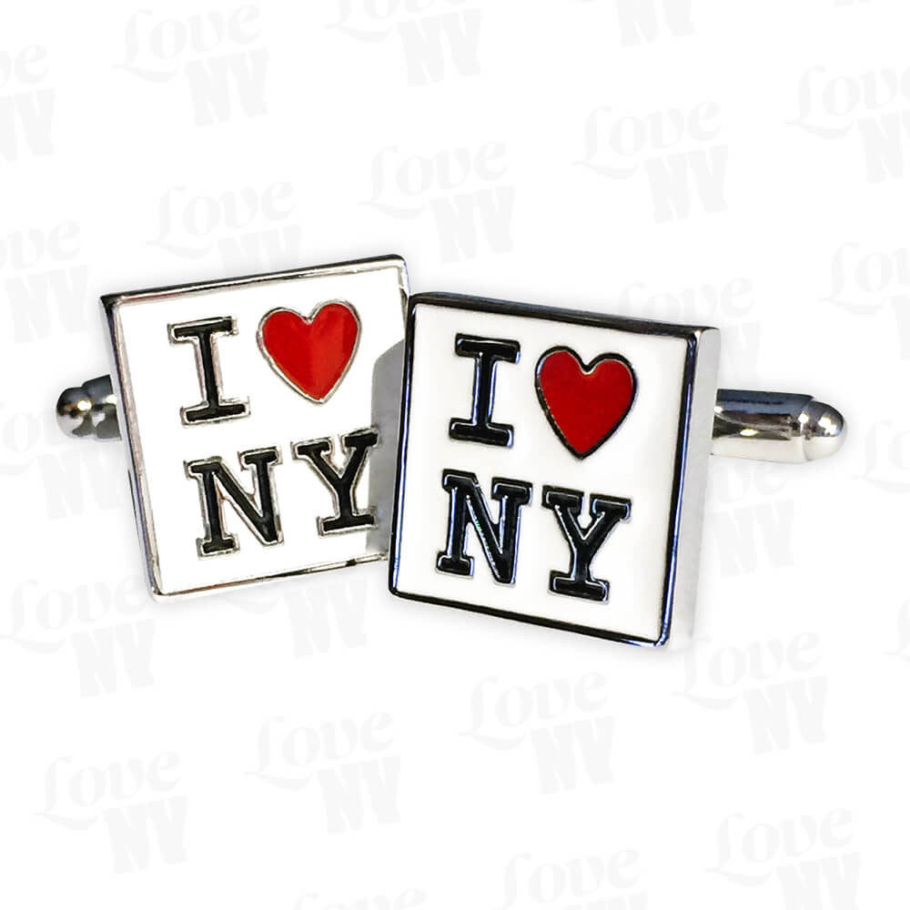 I LOVE NY Manschettenknöpfe New York 1
