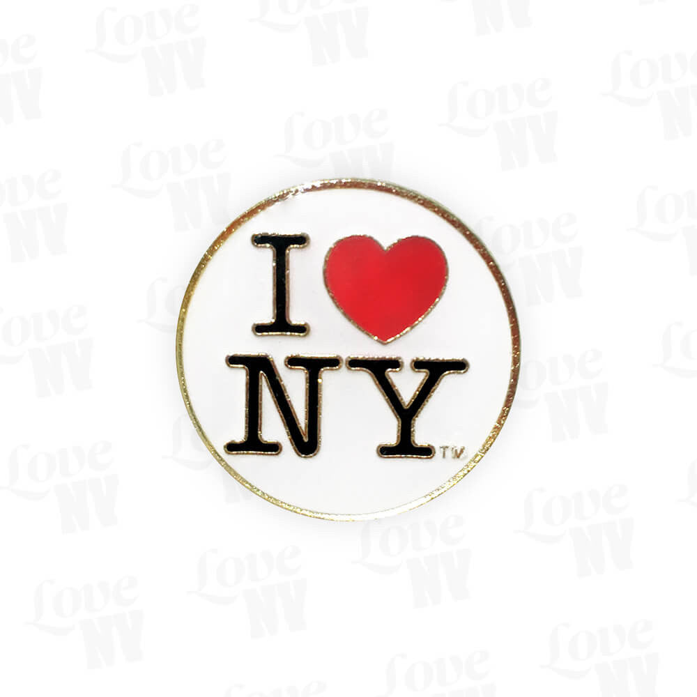 I LOVE NY Pin Anstecknadel New York