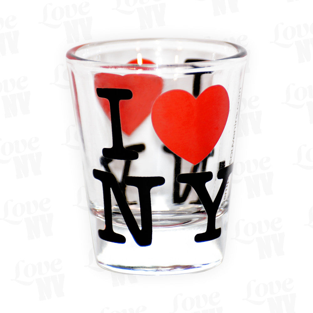 I LOVE NY Shotglas Stamper New York