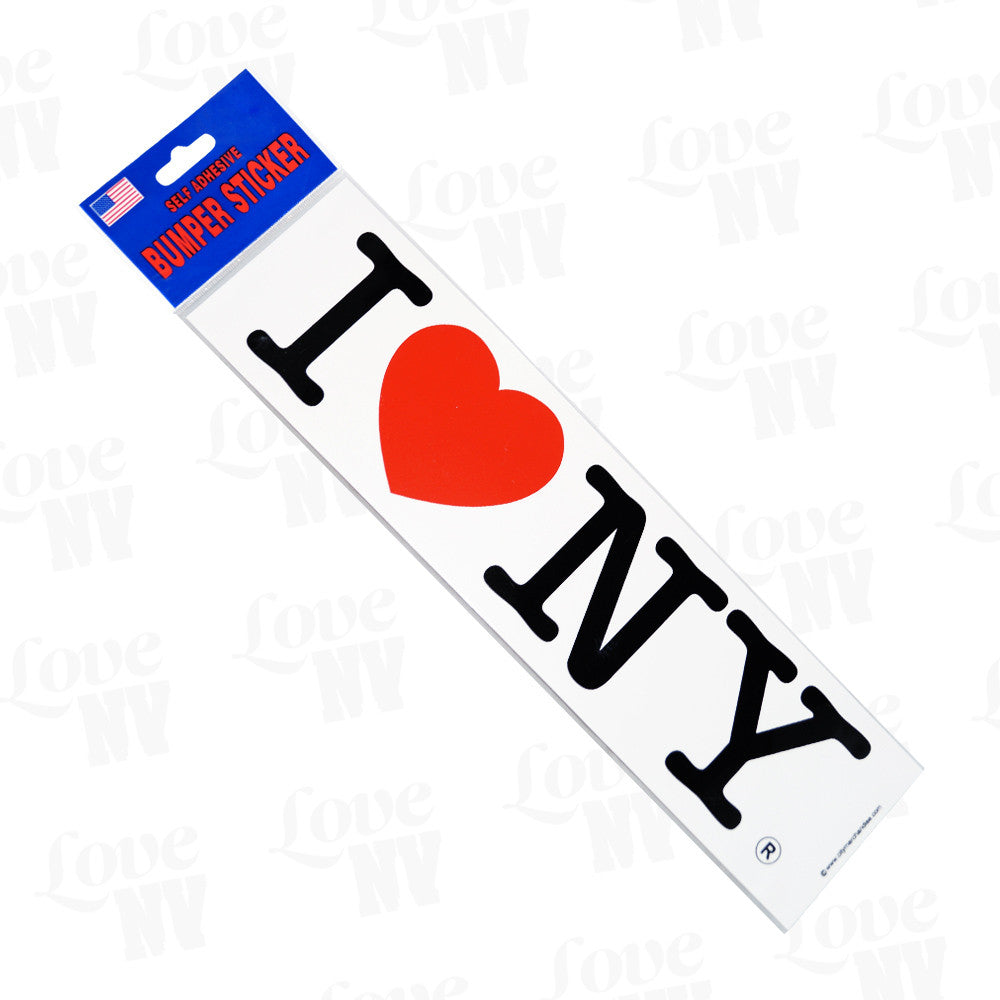 I LOVE NY Sticker New York Aufkleber