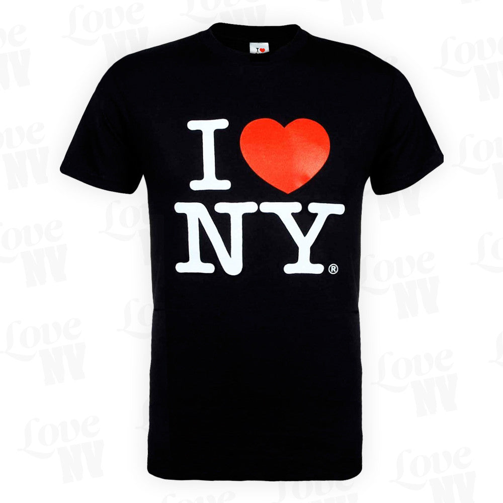 Original I LOVE NY T-Shirt New York Schwarz 1