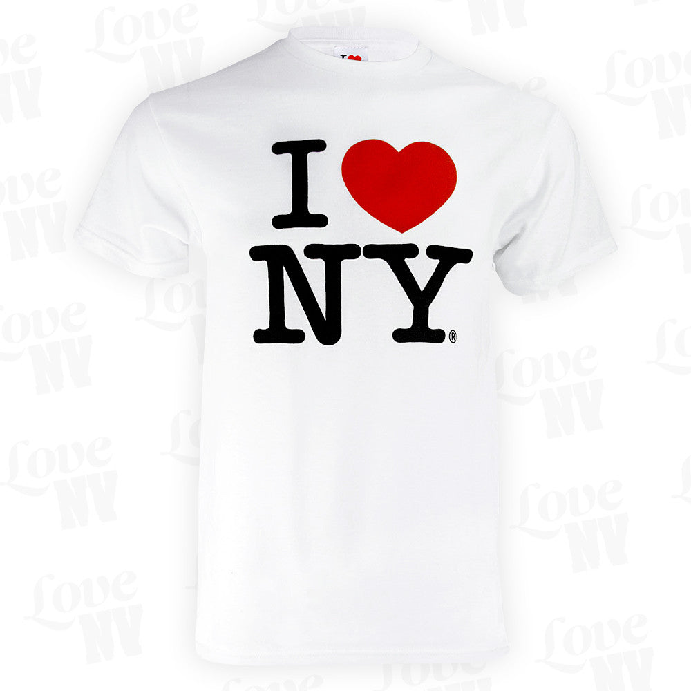 Original I LOVE NY T-Shirt New York Weiss 1