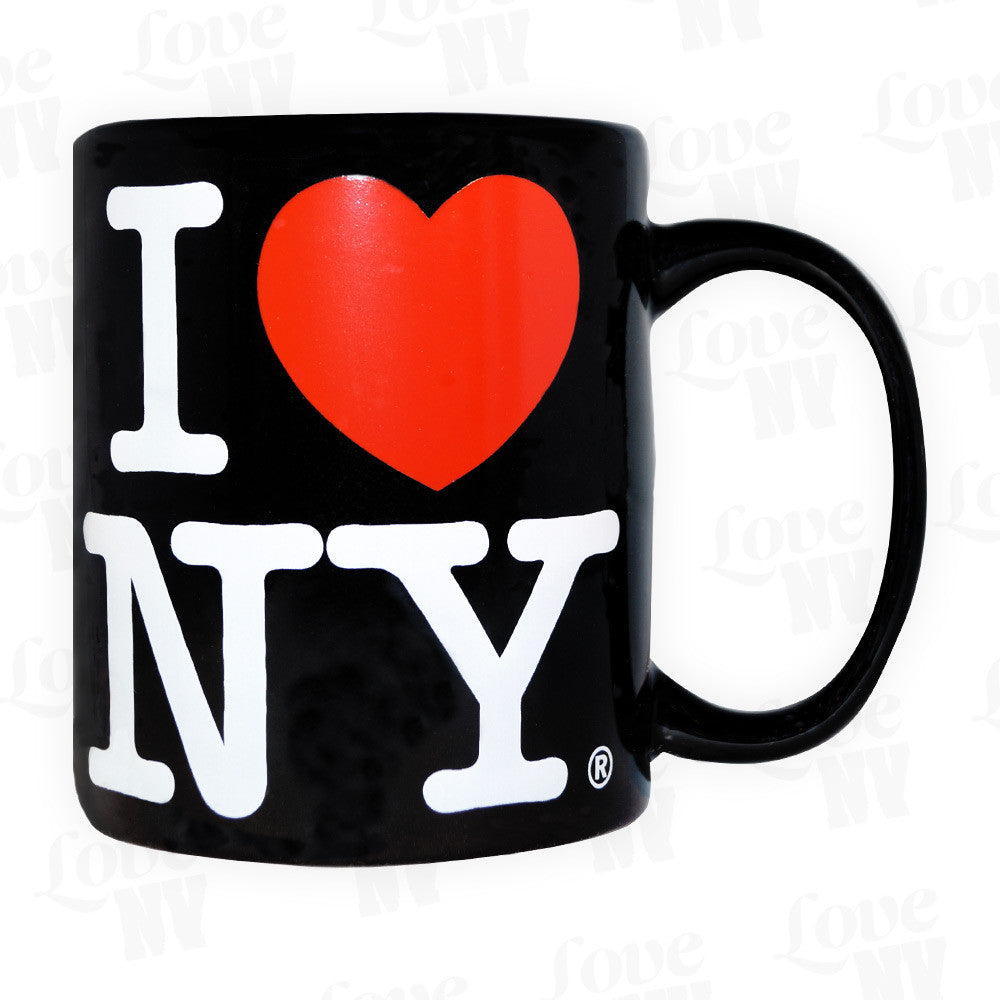 I LOVE NY New York Tasse Schwarz 1
