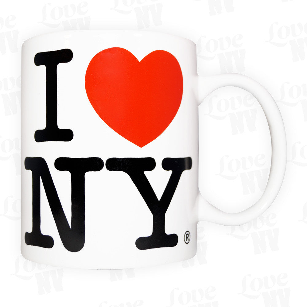 I LOVE NY New York Tasse Weiss 1