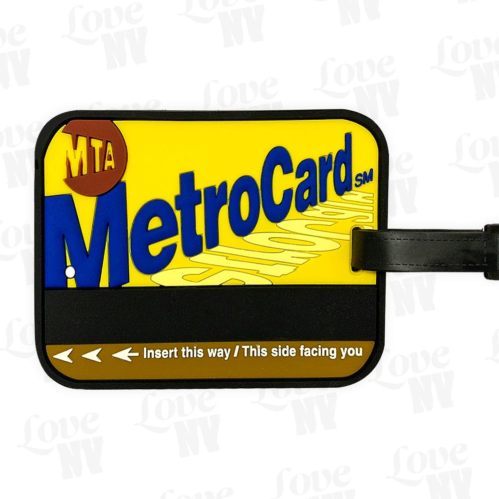 MTA MetroCard New York City Subway Kofferanhänger