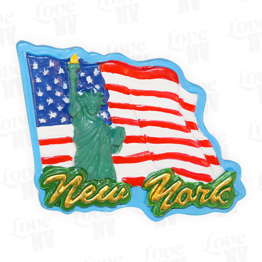 New York USA Liberty Magnet