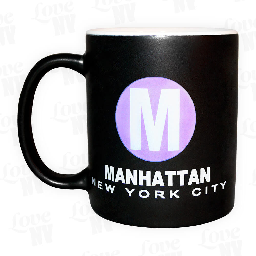 Manhattan M New York City Tasse Kaffee Tee
