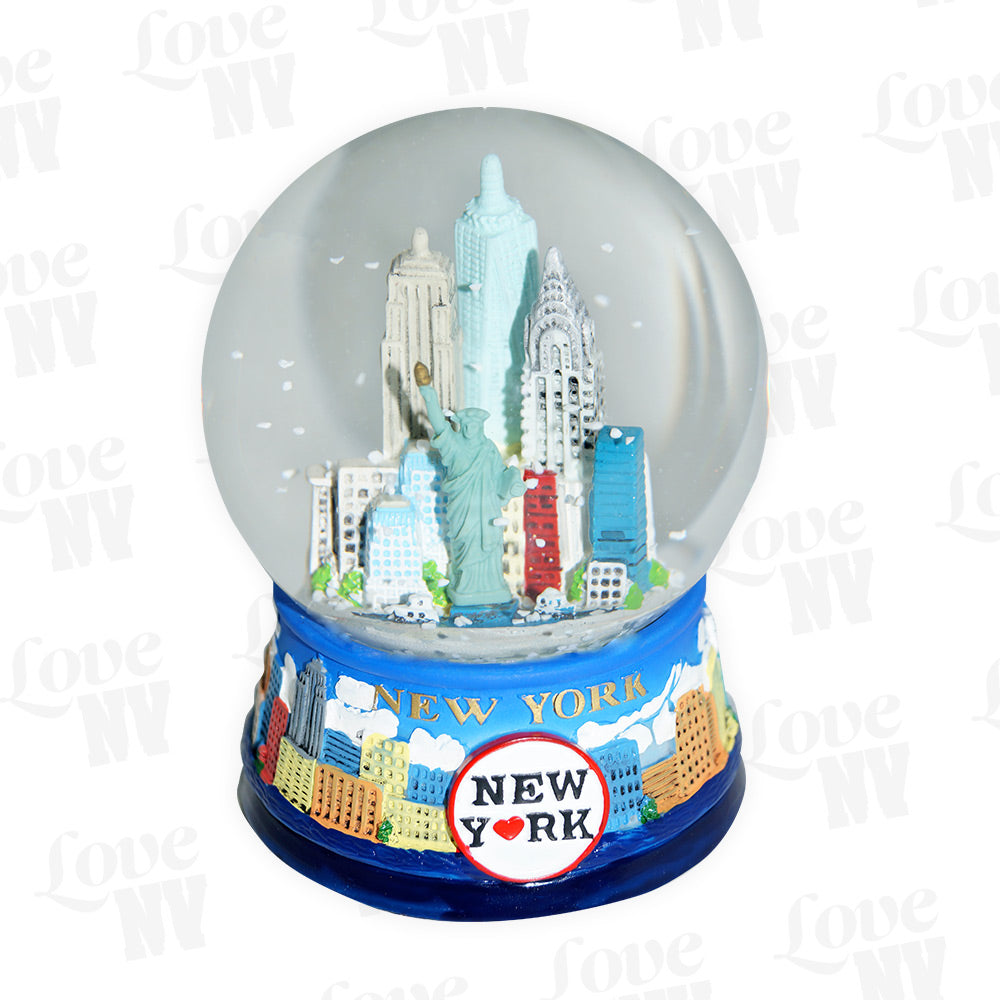 New York City Winter Schneekugel Thumbnail